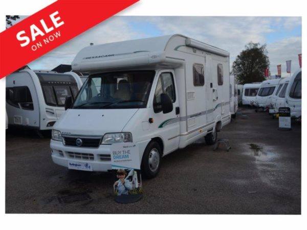 04 Bessacarr E450 - 2 Berth Fixed Bed Motorhome