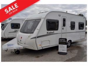 2008 - Abbey Safari 495 - 4 Berth - Fixed Bed - Touring Caravan