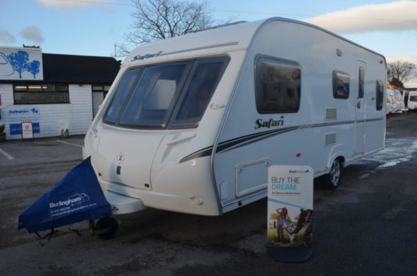 2008 Abbey Safari 530 - End Lounge - 5 Berth - Single Axle - Touring Caravan