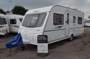 2008 - Coachman Pastiche 535-4 - 4 Berth - Fixed Bed - Touring Caravan