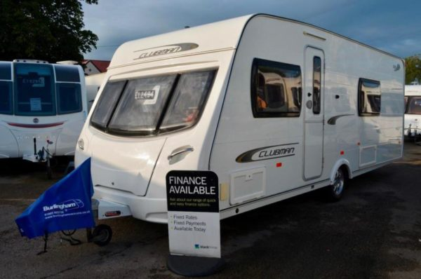 2011 - Lunar Clubman SB - 4 Berth - Single Beds - Touring Caravan