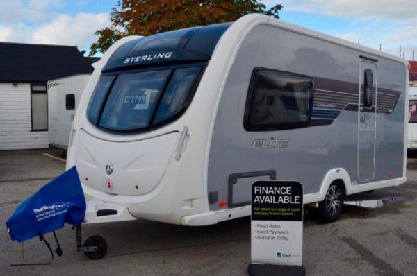 2012 - Sterling Elite Diamond - 2 Berth - End Washroom - Touring Caravan