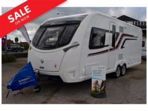 2015 Swift Elegance 645 - 4 Berth. Trans Island Bed End Washroom Touring Caravan
