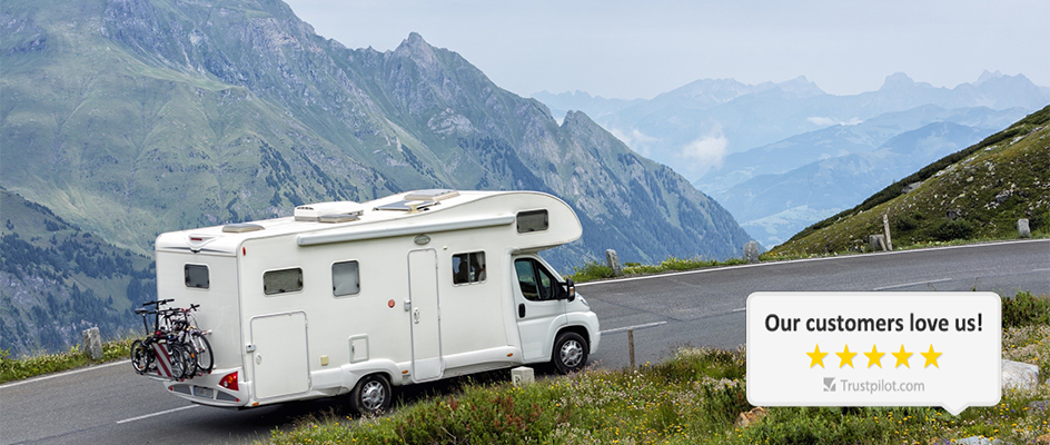Great Range of Used Motorhomes & Campervans