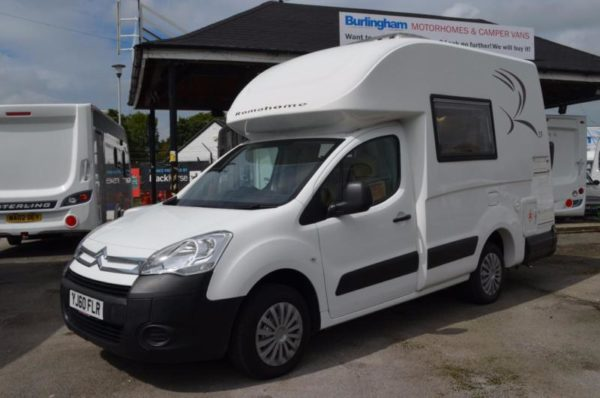 Romahome R25 - High Top Camper / Motorhome - CITROEN BERLINGO
